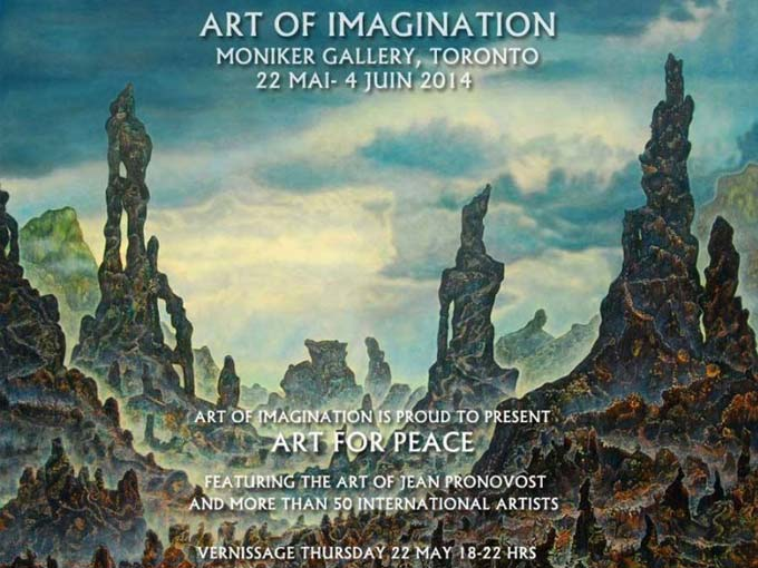 Art Of Imagination - Jean Pronovost