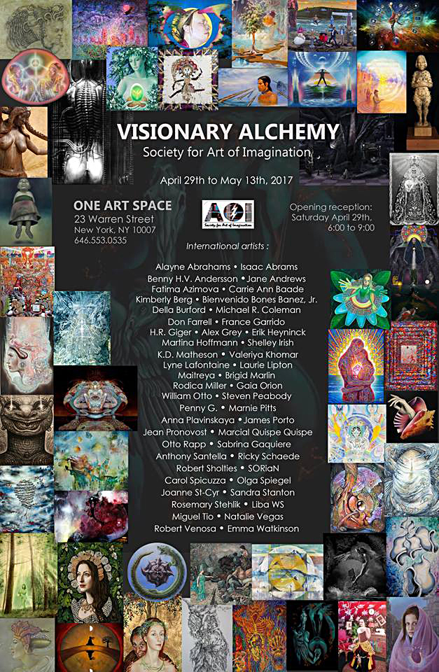 visual art (flyer)