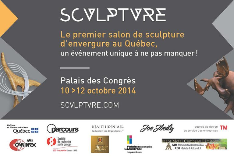 sculpture Quebec (flyer)